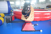 Inflatable Bull Riding Machine / Inflatable Mechanical Bull For Amusement Park supplier
