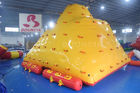 China Water Park Floating Water Iceberg For Climbing And Sliding factory