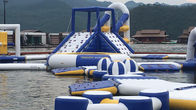 0.9mm PVC Tarpaulin Inflatable Floating Water Playground For Resort supplier