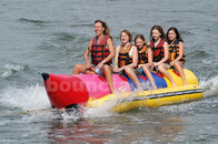 China Inflatable Banana Boat For 5 Persons , Inflatable Towable Water Tube factory