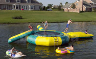 Inflatable Water Trampoline Combo TRC03 Used in the Lake, Water Trampoline With Slide wholesalers