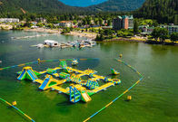 Giant Inflatable Water Park Games /  Harrison Exciting Aqua Park Equipment For Adults or Kids supplier