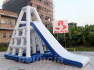 0.9mm Durable PVC Inflatable Water Climbing Slide For Water Park
