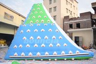 Giant Inflatable Floating Iceberg , Water Climbing Wall For Ocean supplier