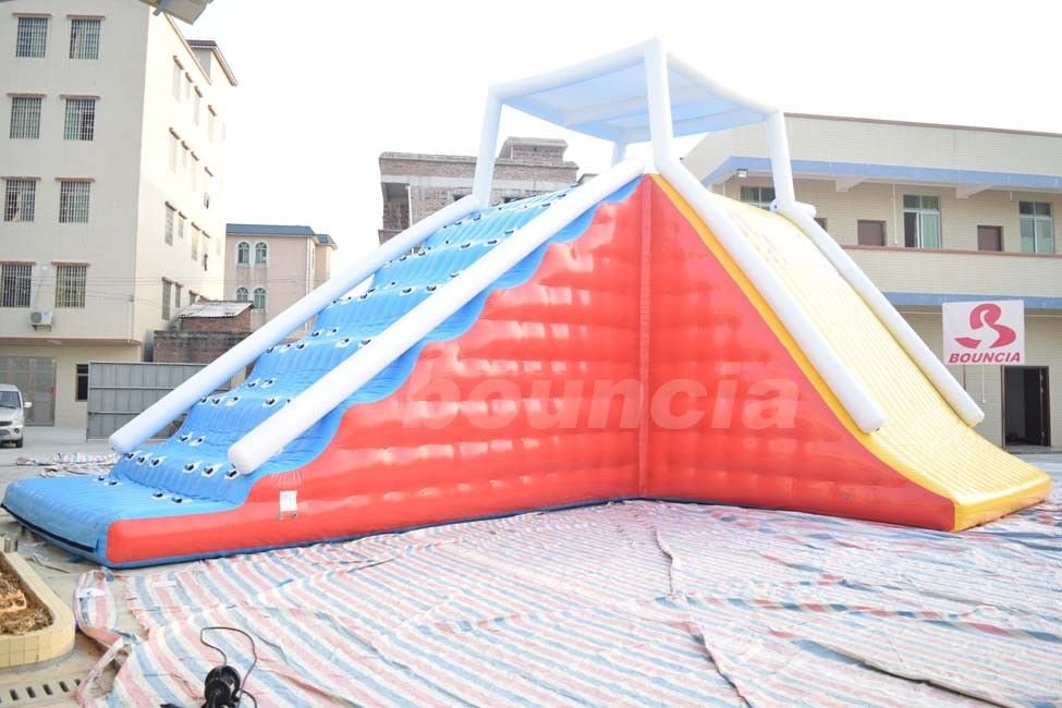 Durable Inflatable Water Sport Game / Inflatable Climbing Tower For Sale supplier