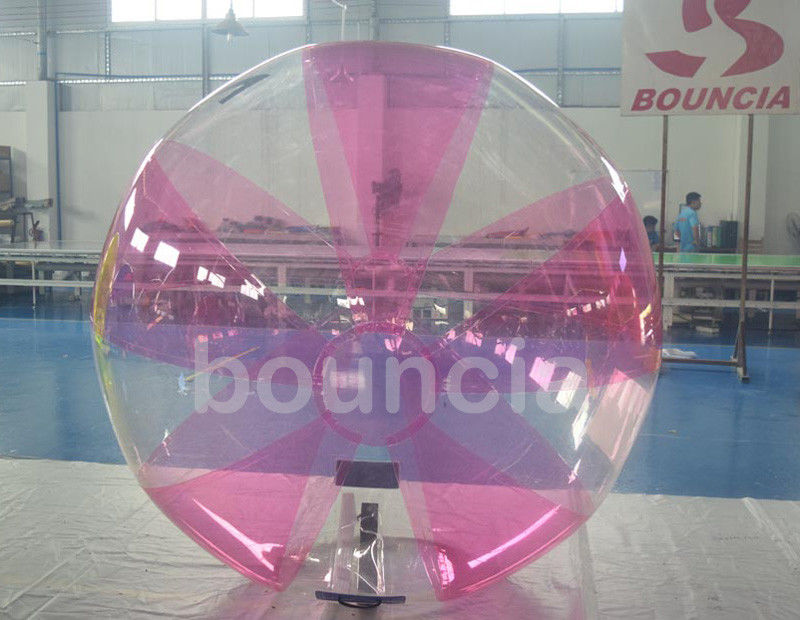 0.7mm TPU Inflatable Water Walking Ball With Soft Handle For Water Games