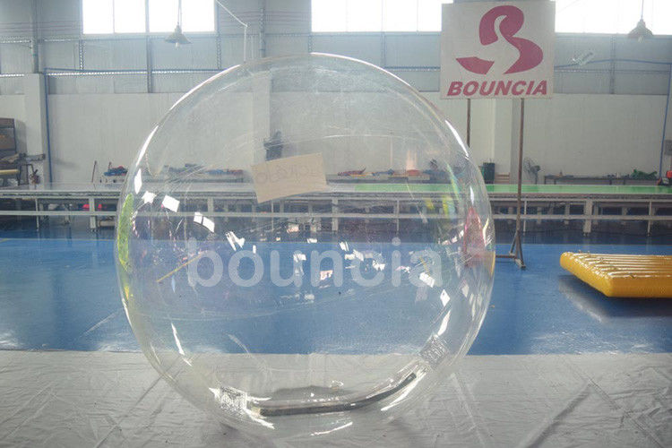 Clear TPU Inflatable Water Walking Ball With Durable Tizip Zipper supplier