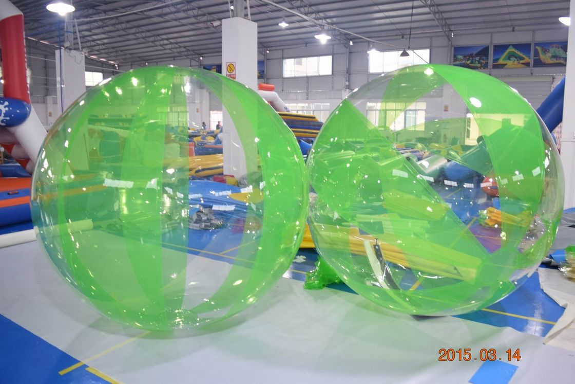 Big Inflatable Water Walker With 0.7mm Thick Polyether TPU For Pool supplier