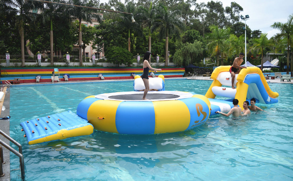 Mini Inflatable Water Park Equipment For Family Swimming Pool