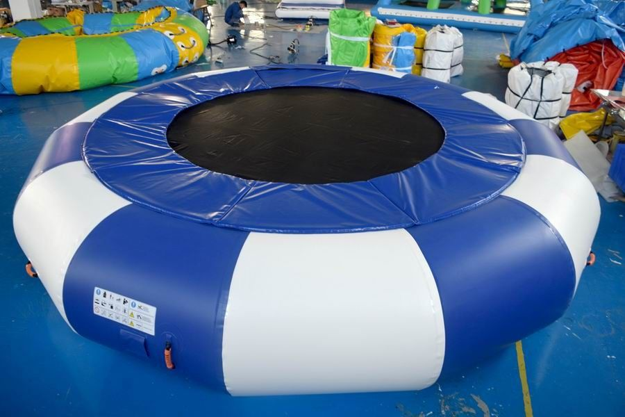 PVC Material Inflatable Water Trampoline For Family Use supplier