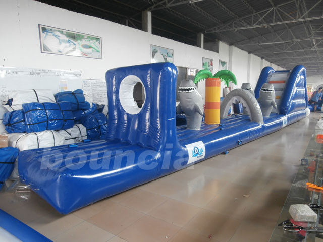 Custom Inflatable Water Sport Pool Inflatable Water Obstacle Course