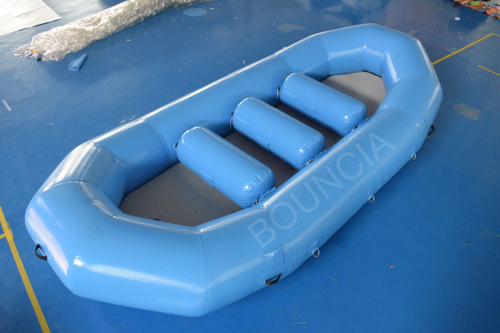 Inflatable White Water Rafting Boats With Detachable Drop Stitch Floor supplier