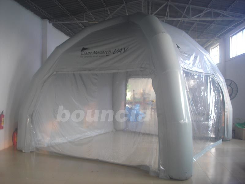 0.6mm PVC Tarpaulin Inflatable Airtight Tent TEN70 for promotion