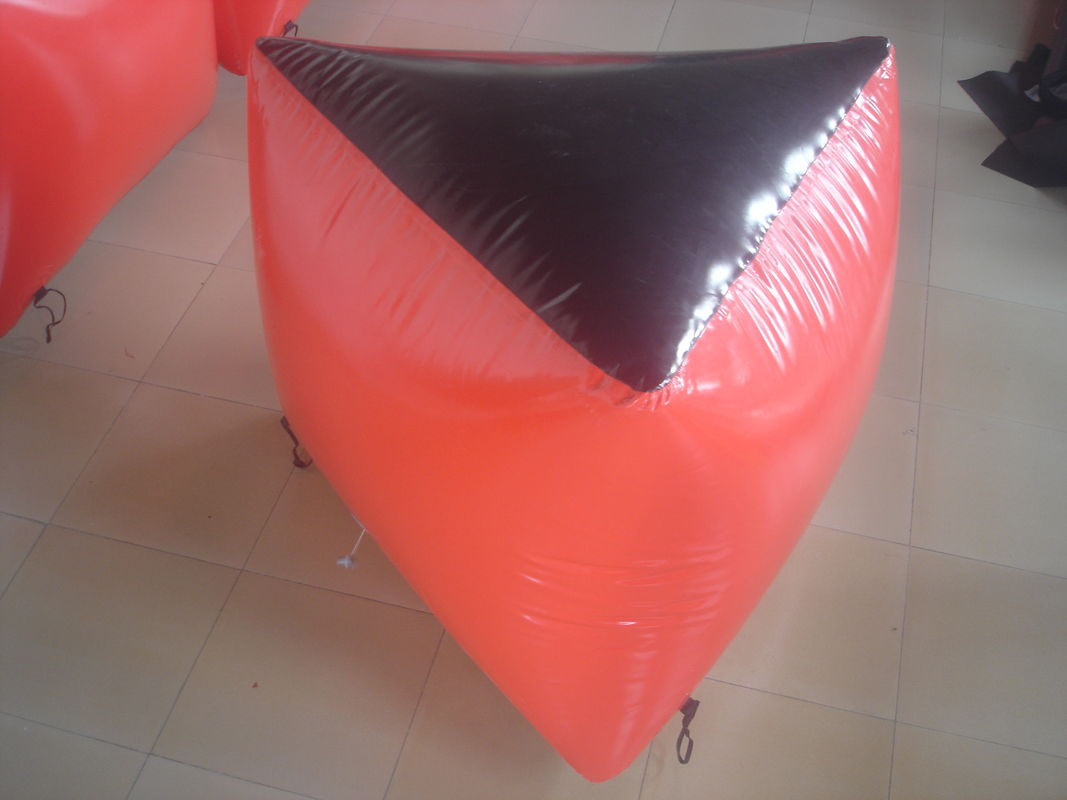 0.6mm PVC Tarpaulin Inflatable Paintball Bunker BUN03 for Paintball Sports supplier