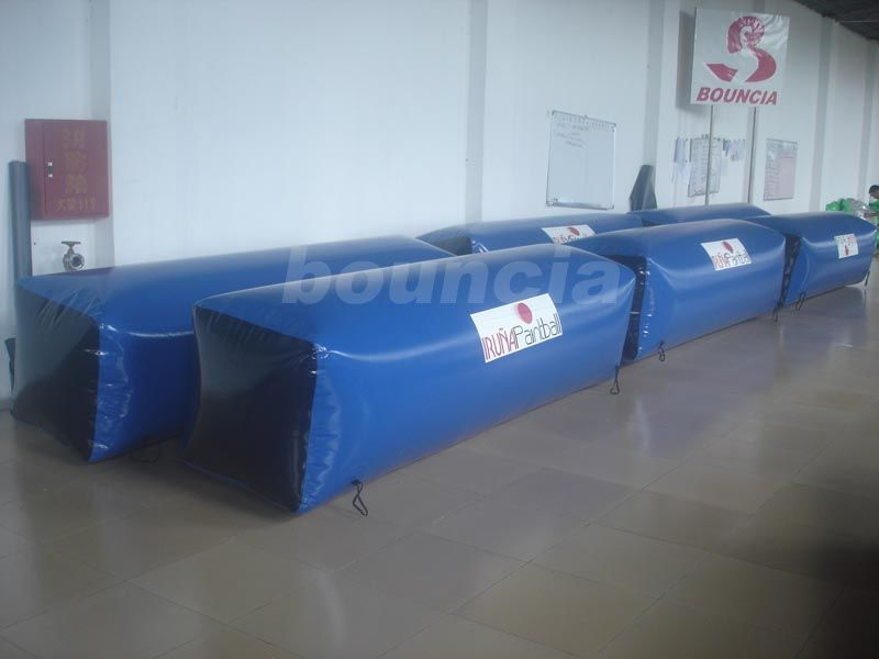 0.6mm Durable Inflatable Beam Shape Bunker for Commercial Use supplier