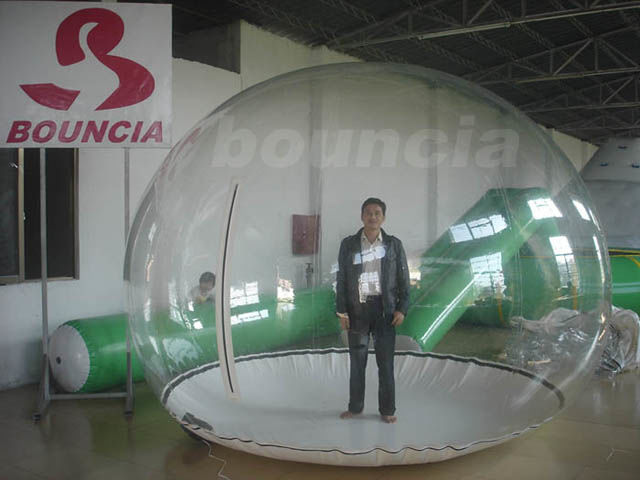 0.5mm PVC Inflatable Show Ball / Inflatable Snow Globe For Trade Show supplier