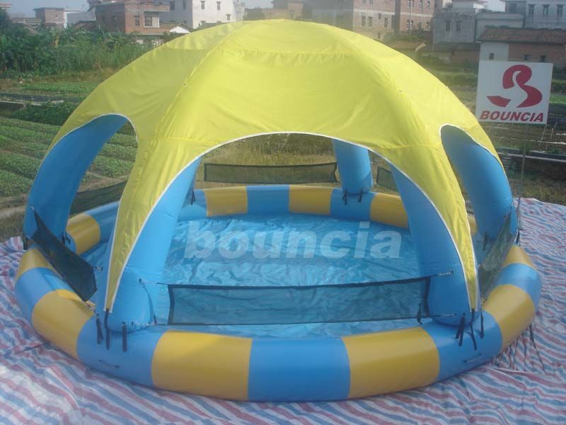 Water Walking Ball Inflatable Water Pool With Durable PVC Tarpaulin supplier