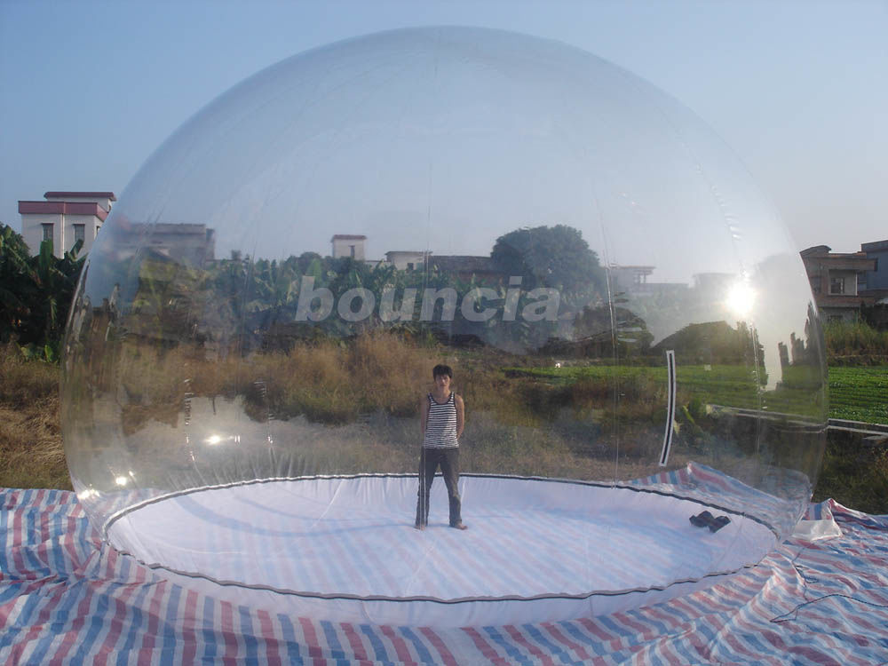 Clear Inflatable Show Ball / Inflatable Snow Globe For Advertising supplier
