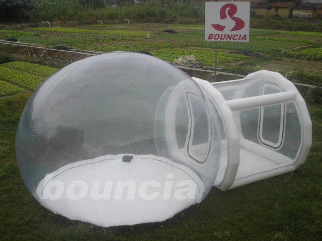 Outdoor Single Tunnel Inflatable Bubble Camping Tent supplier