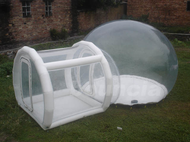0.5mm TPU Inflatable Show Ball With 0.6mm PVC Tarpaulin Base And Tunnel supplier