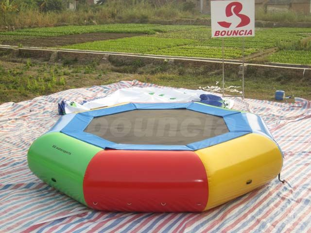 Inflatable Sungear Water Trampoline For Backyard Or Square supplier