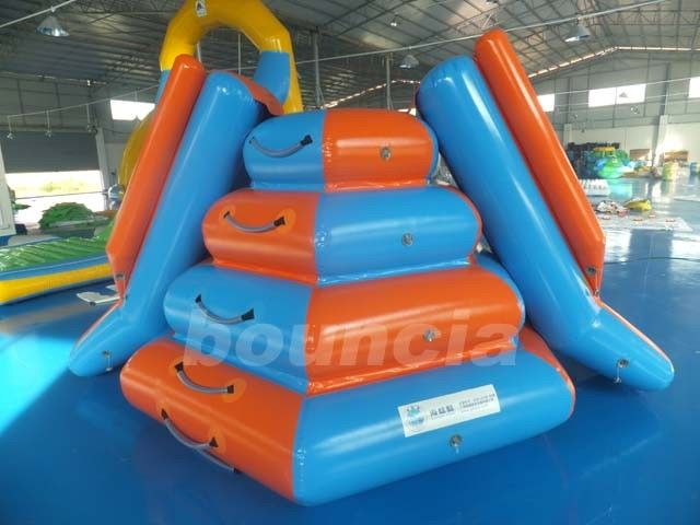 Climbing Inflatable Water Slides For Seaside Or Swimming Pool supplier