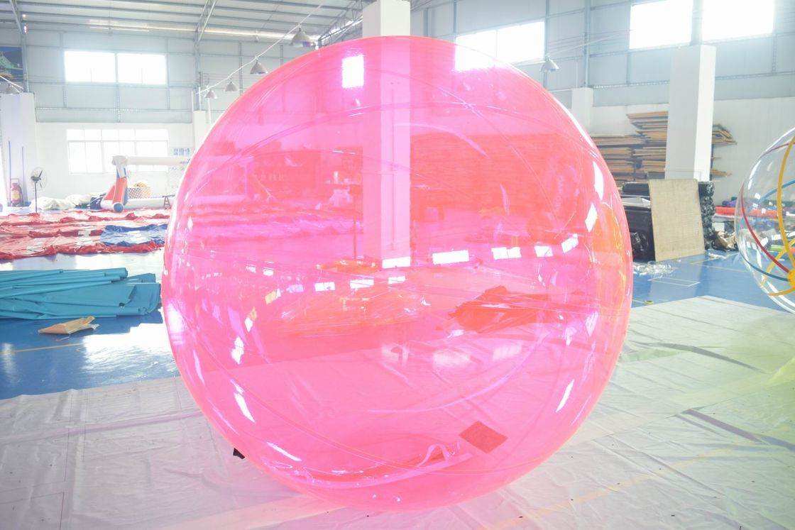 PVC Inflatable Water Ball ,  Kids Or Adults Water Bubble Ball For Pool supplier