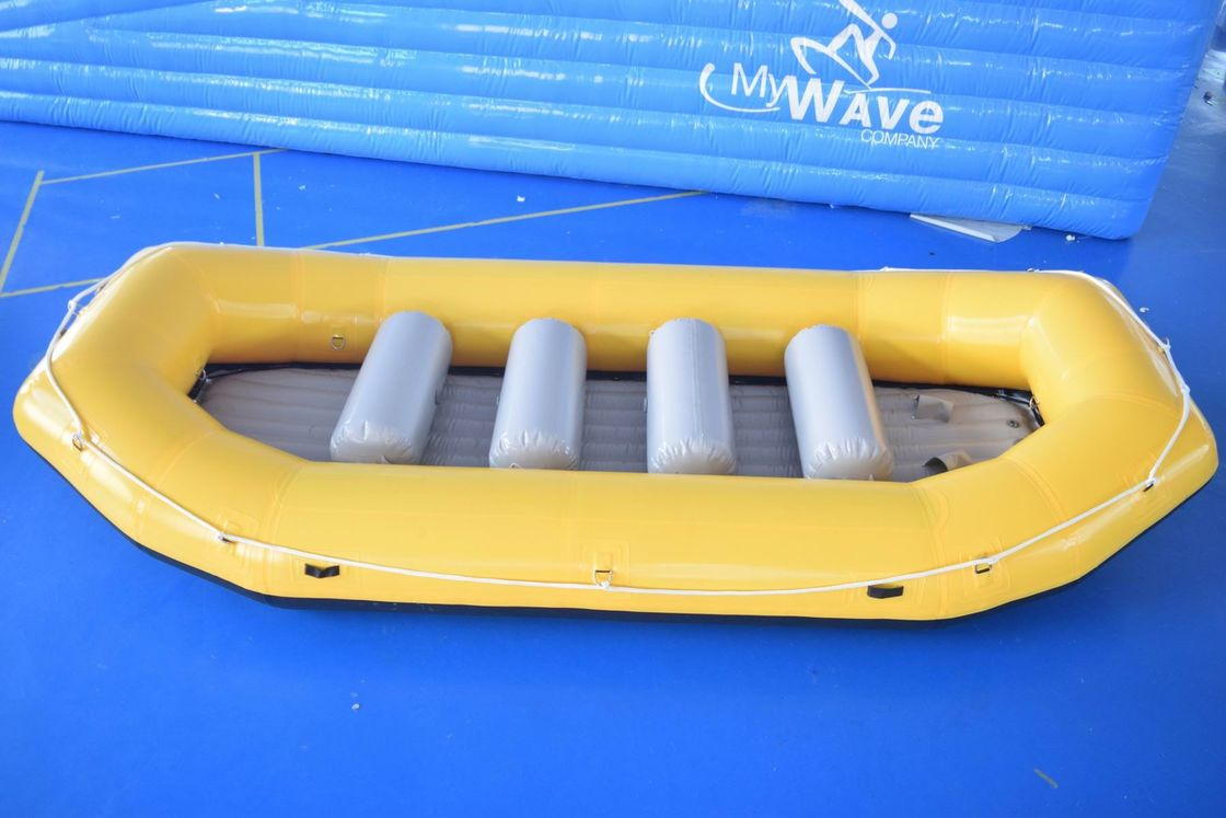 0.9mm PVC Tarpaulin Inflatable Rafting Boat For Sale supplier
