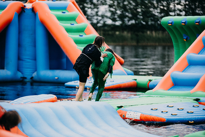 2020 New Outdoor Water Park Inflatable / Floating Water ...