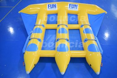 0.9mm Durable PVC Tarpaulin Inflatable Flying Fish Boat For Sale