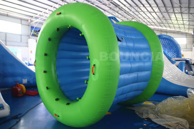 0.9mm PVC Tarpaulin Inflatable Water Walking Roller Ball With Durable Net Structure