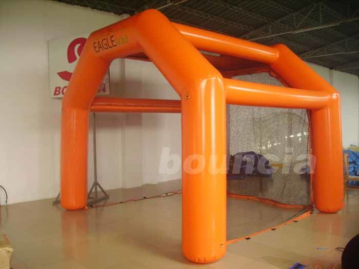 0.6mm PVC Inflatable Golf Cage For Golf Sports