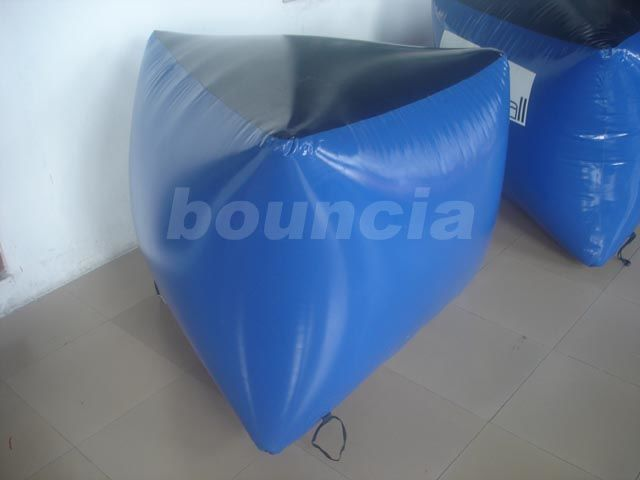 0.6mm PVC Tarpaulin Inflatable Paintball Bunker BUN04 for Paintball Sports