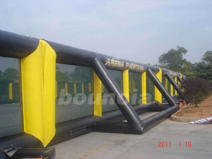 Detachable Inflatable Paintball Fields With Durable Nylon Thread